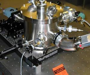 aberration corrected flat field spectrometer uses spherical substrate gratings with aspheric wave-front recording for an aberration corrected, high resolution spectrometer