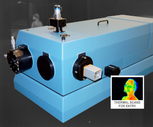 One meter focal length, optically fast, f/7 spectrometer / spectrograph