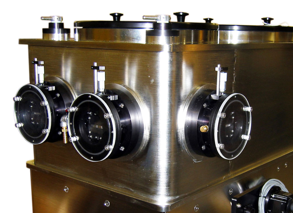stainless steel housing high vacuum monochromator for calibration and spectroscopy